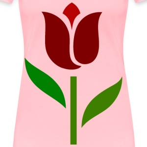 Grace Tulip - Women's Premium T-Shirt