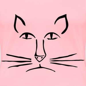 Cat Smoothed - Women's Premium T-Shirt