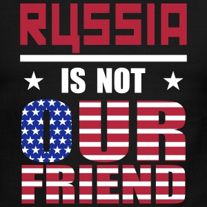 Russia is not Our Friend T-Shirts - Men's Ringer T-Shirt