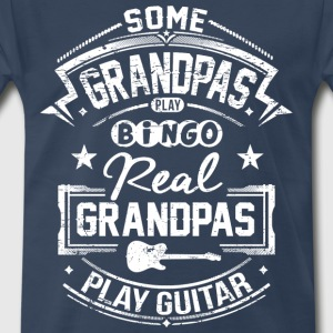 Real Grandpas Play Guitar T-Shirts - Men's Premium T-Shirt