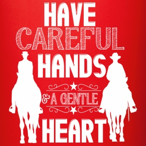 Have careful hands - horses Mugs & Drinkware - Full Color Mug