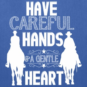 Have careful hands - horses Bags & backpacks - Tote Bag