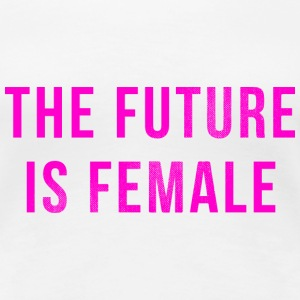 Vintage: The Future Is Female T-Shirts - Women's Premium T-Shirt
