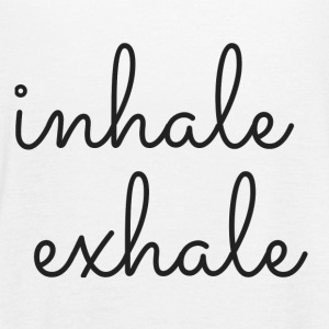 Inhale Exhale Tank Top. Yoga Tank. Workout Tank.  - Women's Flowy Tank Top by Bella