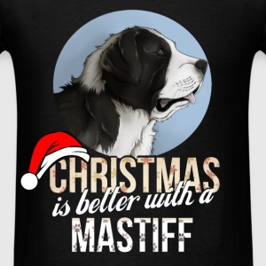 Mastiff - Christmas is better with a Mastiff - Men's T-Shirt