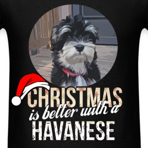 Havanese - Christmas is better with a Havenese - Men's T-Shirt