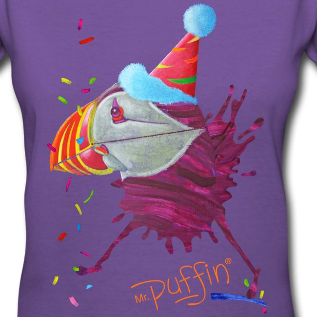 MR. PUFFIN - front print - s/xxl - multi colors