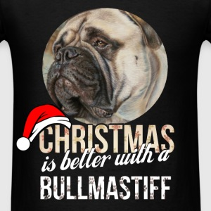 Bullmastiff - Christmas is better with a Bullmasti - Men's T-Shirt