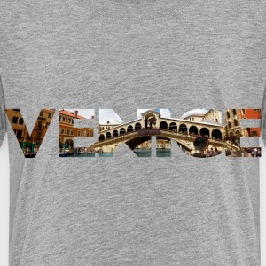 Venice Rialto canal typo Baby & Toddler Shirts - Toddler Premium T-Shirt