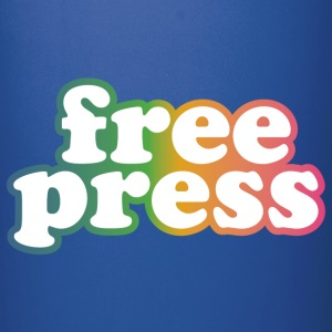 Free Press Mugs & Drinkware - Full Color Mug