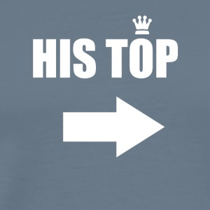 His Top - Men's Premium T-Shirt