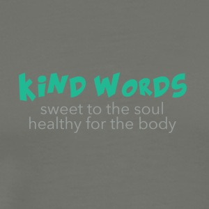 Kind Words - sweet 'n' healthy - Men's Premium T-Shirt