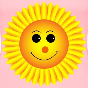 Sunflower Smiley - Women's Premium T-Shirt
