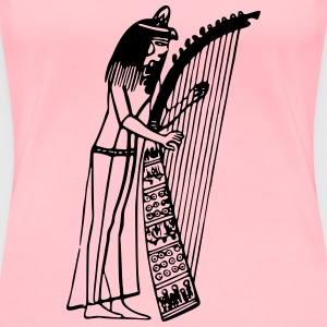Egyptian musician - Women's Premium T-Shirt
