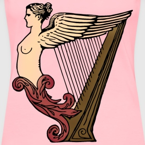 Harp (coloured) - Women's Premium T-Shirt