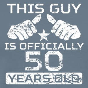 This Guy Is Officially 50 Years Old - Men's Premium T-Shirt