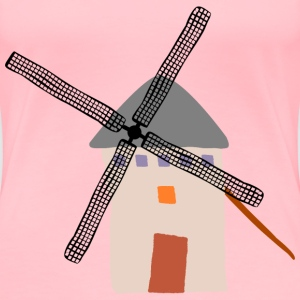 Crooked windmill 2 - Women's Premium T-Shirt