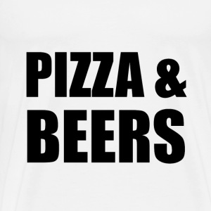 Pizza And Beers - Men's Premium T-Shirt