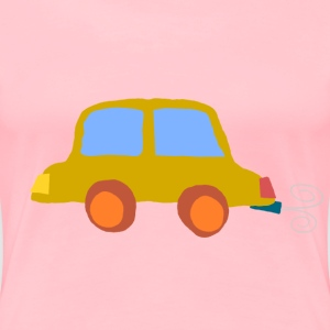 Crooked car 01 - Women's Premium T-Shirt
