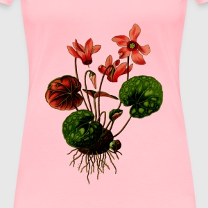 Cyclamen - Women's Premium T-Shirt