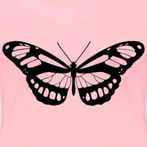 Butterfly 15 (red) - Women's Premium T-Shirt