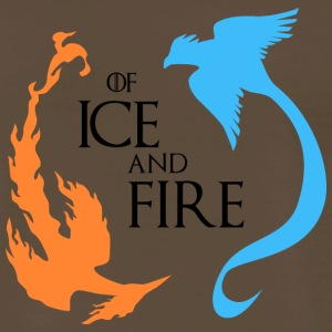 Legendary Birds of Ice and Fire - Men's Premium T-Shirt