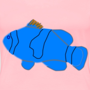 Blue Nemo - Women's Premium T-Shirt