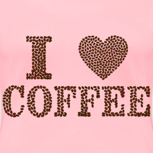 I heart Coffee - Women's Premium T-Shirt