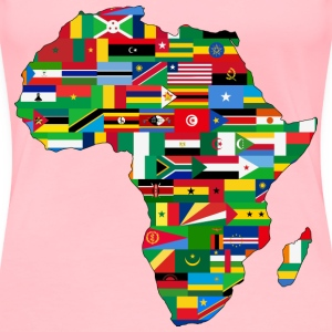 Africa flags - Women's Premium T-Shirt