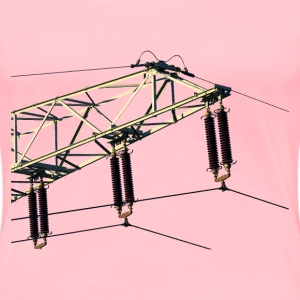 Power lines - Women's Premium T-Shirt