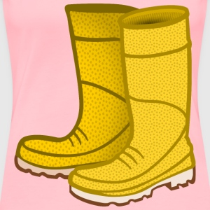 rubber boots coloured - Women's Premium T-Shirt