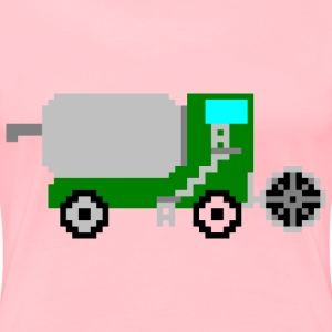 Pixel art harvester - Women's Premium T-Shirt