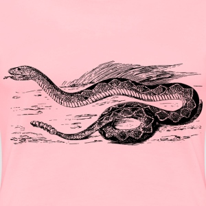 Diamond rattlesnake - Women's Premium T-Shirt