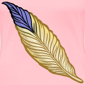 feather coloured - Women's Premium T-Shirt