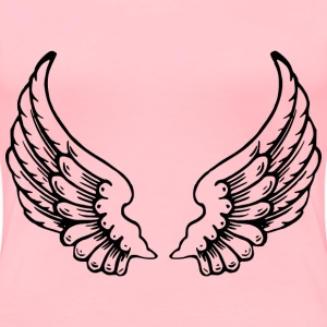 Angel Wings - Women's Premium T-Shirt