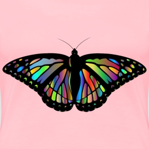 Prismatic Monarch Butterfly II - Women's Premium T-Shirt