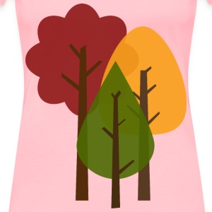 Fall Trees - Women's Premium T-Shirt