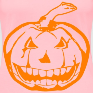 Scary JackOLantern Orange - Women's Premium T-Shirt