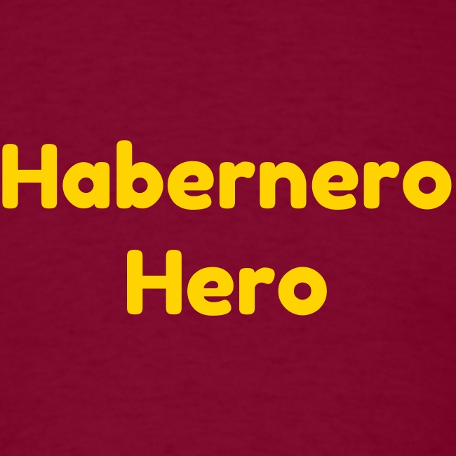 Fun T-Shirt Habernero Hero