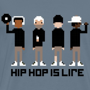 Hip Hop is Life - Men's Premium T-Shirt