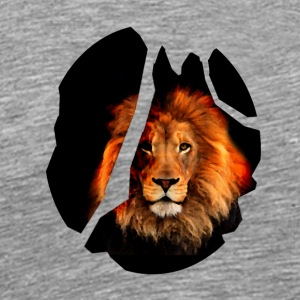 The Lion Heart - Men's Premium T-Shirt