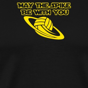 Spike be with you Volleyball - Men's Premium T-Shirt