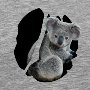 The fluffy Koala - Men's Premium T-Shirt
