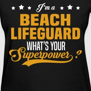 Beach Lifeguard - Women's T-Shirt