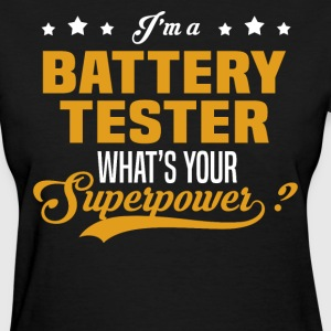 Battery Tester - Women's T-Shirt