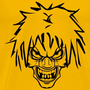 Horror creature evil cool T-Shirts - Men's Premium T-Shirt