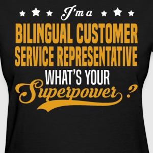 Bilingual Customer Service Representative - Women's T-Shirt
