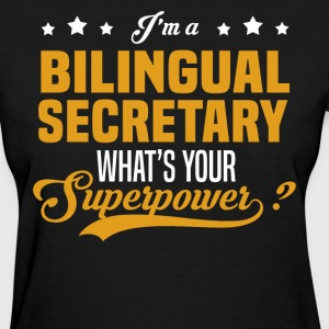 Bilingual Secretary - Women's T-Shirt