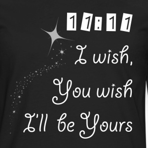 I WISH, YOU WISH FUNNY Long Sleeve Shirts - Men's Premium Long Sleeve T-Shirt
