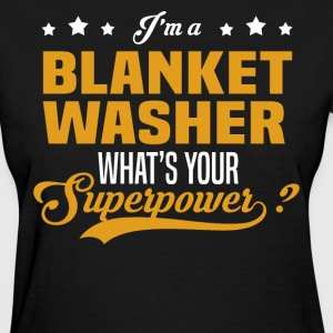 Blanket Washer - Women's T-Shirt